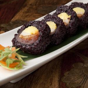 Czy zastanawialiście się, czym jest czarny ryż w Sushi?